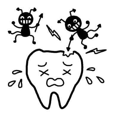 歯医者通いを途中でストップした人