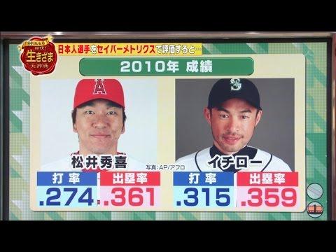 林修先生が松井とイチローを比較すると? - YouTube
