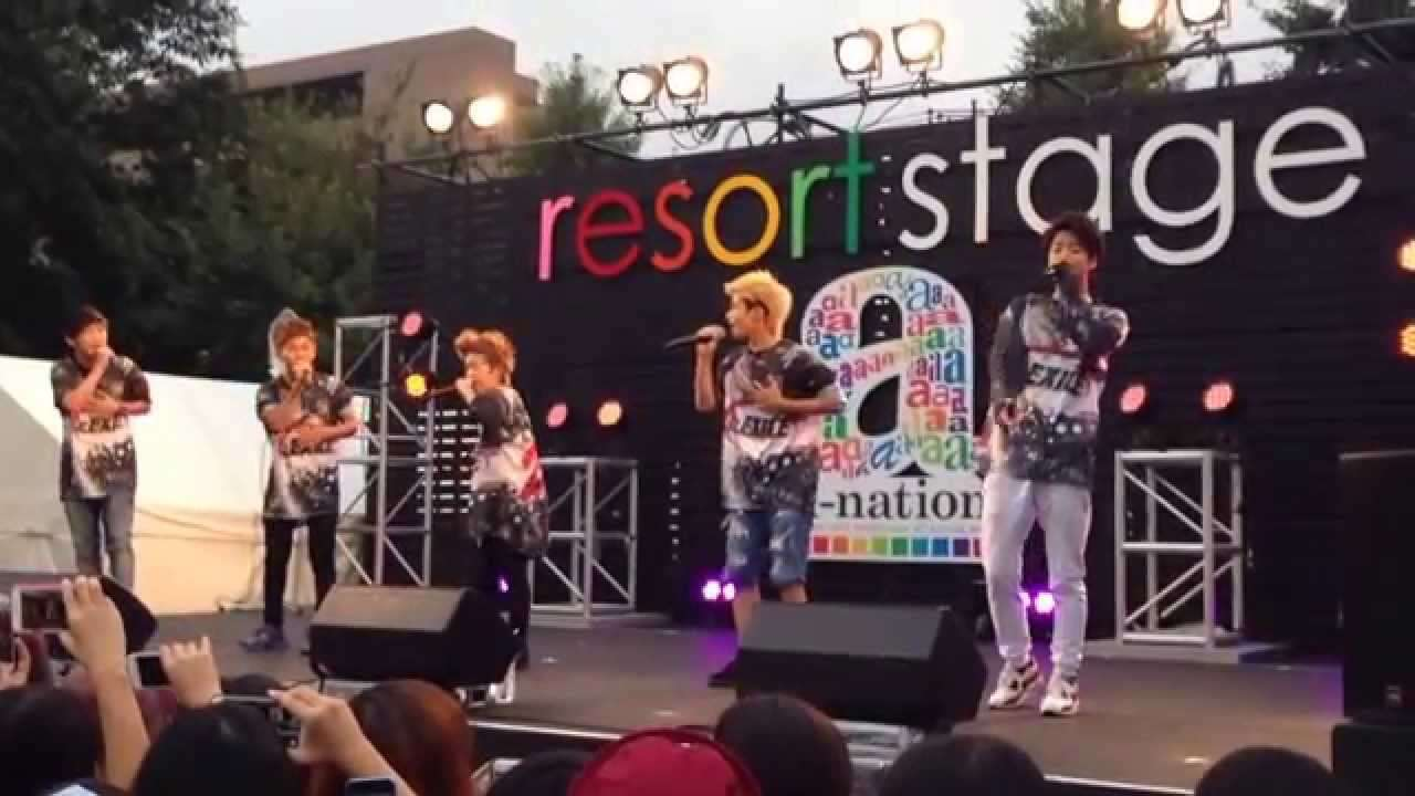PROJECT TARO a-nation stadium fes. resort stage - YouTube