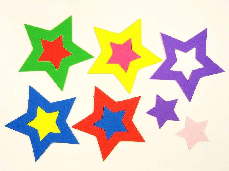 星型が集まるトピ