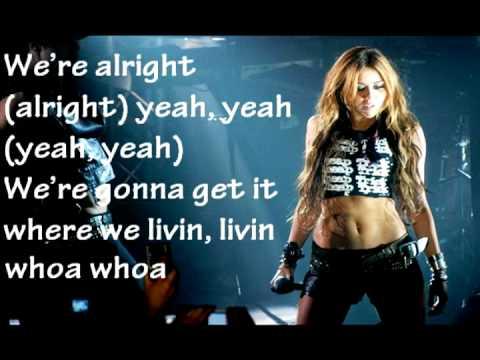 Miley Cyrus Liberty Walk Lyrics HQ - YouTube