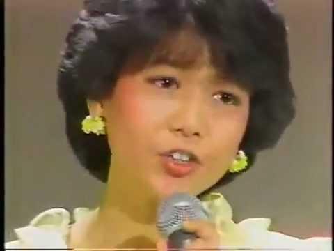 80年代 アイドル さよならの物語 堀ちえみ - YouTube