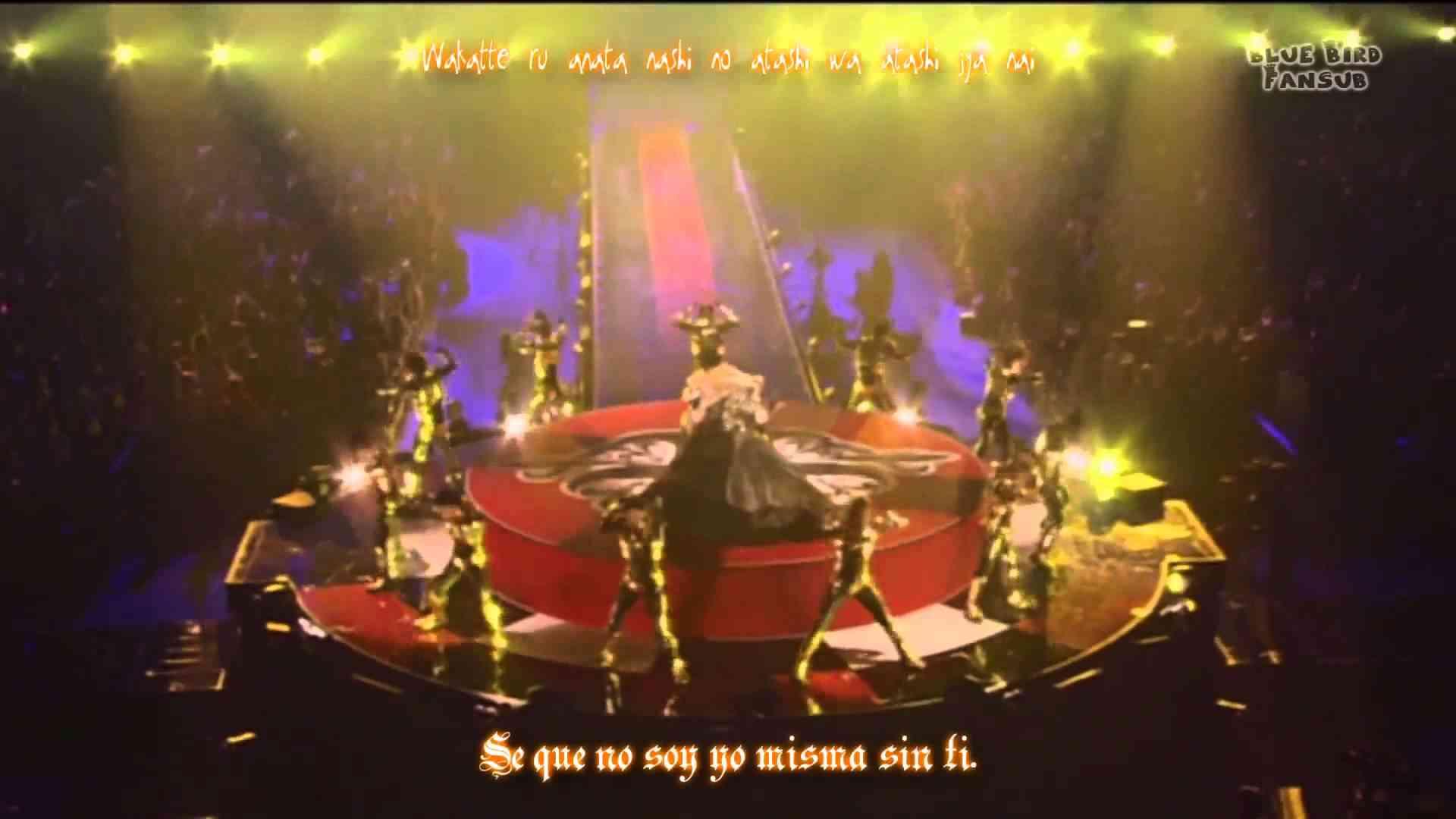 Ayumi Hamasaki - Microphone ~Live~ (Ver. 2) (Sub esp + romaji) - YouTube
