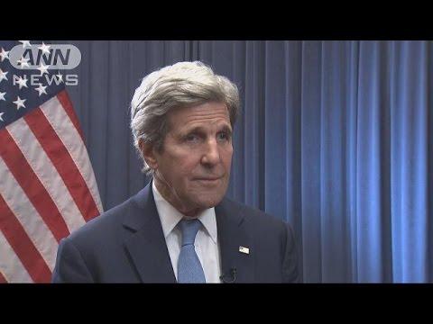 原爆資料館に「心動かされた」 ケリー米国務長官(16/04/12) - YouTube