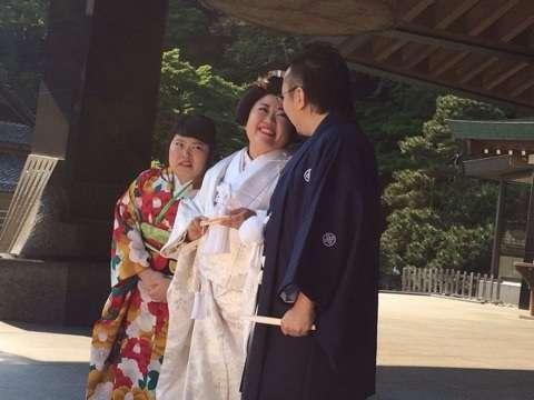 ニッチェ江上敬子 有吉弘行から白無垢姿をいじられ猛抗議「本当に心外!」