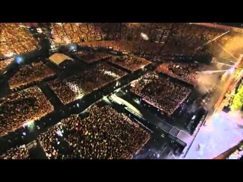 ONE OK ROCK 横浜スタジアム キミシダイ列車 live - YouTube