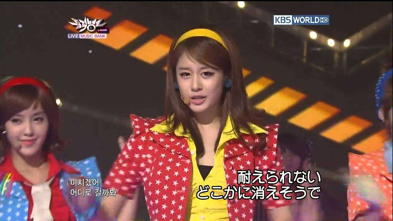 T-ara - Roly Poly [LIVE] - YouTube