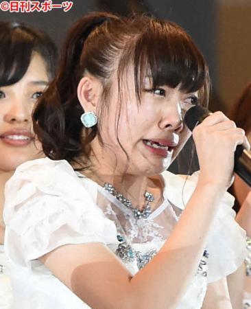 SKE48須田亜香里ラジオで号泣 「ファン離れていく」