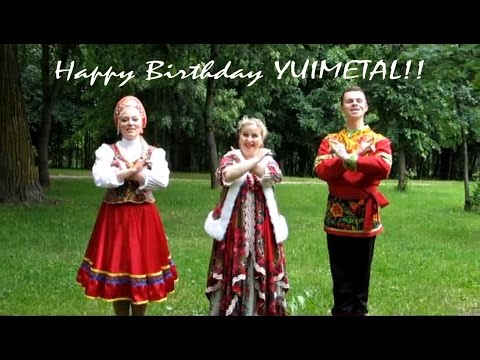 Happy 17th Birthday YUIMETAL!! From Russia! - YouTube