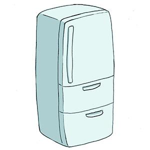 冷蔵庫で冷やしている食品以外の物