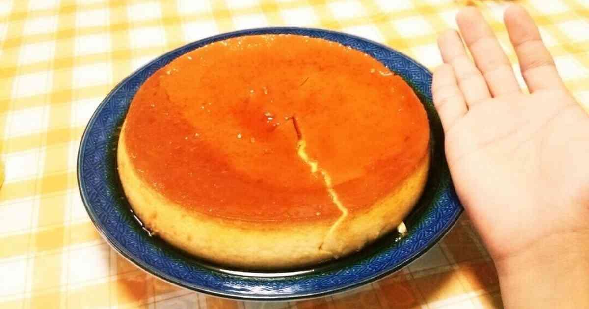 オーブンで作る 大きなプリン♪ by Koki [クックパッド] 簡単おいしいみんなのレシピが241万品