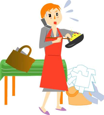 子どもがいる主婦の休日「まったくない」「非常に少ない」という人が計89%に