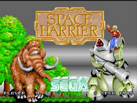 Space Harrier Music - MAIN THEME - YouTube