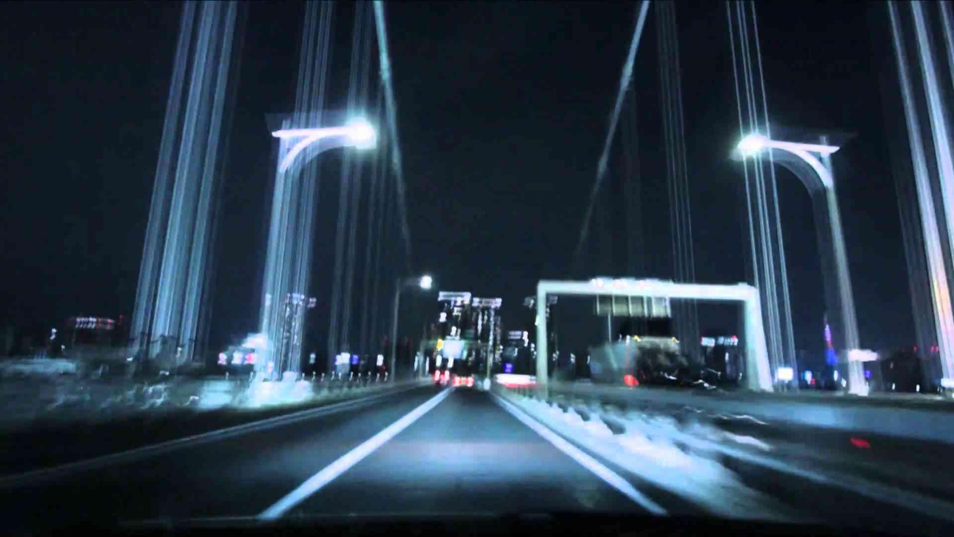 (HD) Night drive in Tokyo 01 -夜の首都高 湾岸線→台場線→C1→渋谷線- - YouTube