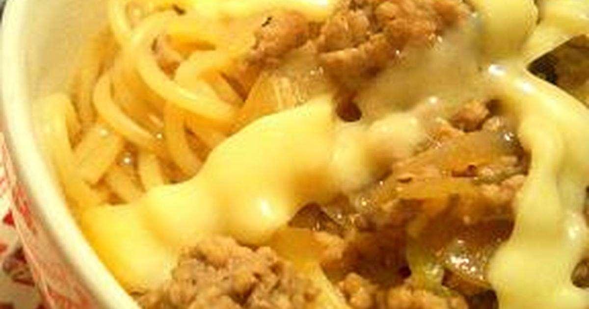 超簡単♪挽肉の醤油コンソメスープパスタ by ありす・ω・♪ [クックパッド] 簡単おいしいみんなのレシピが241万品