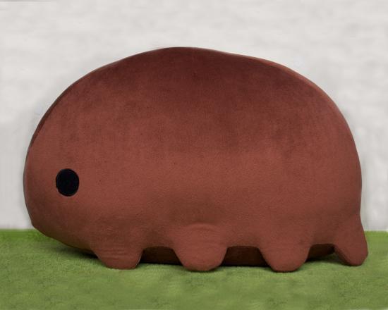 クマムシさんぬいぐるみL (キーチェーン無料プレゼント付き!) - クマムシさんのお店