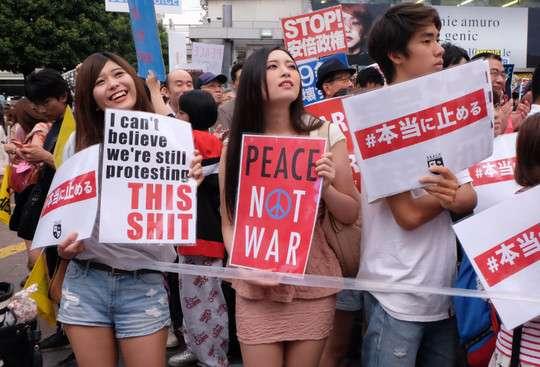 SEALDs女性が誹謗者を「クズ」呼ばわり 「社会の最底辺さまよってるようなクズ」