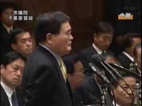 国民新党・亀井静香氏が斬る、犯罪集団創価学会! - YouTube