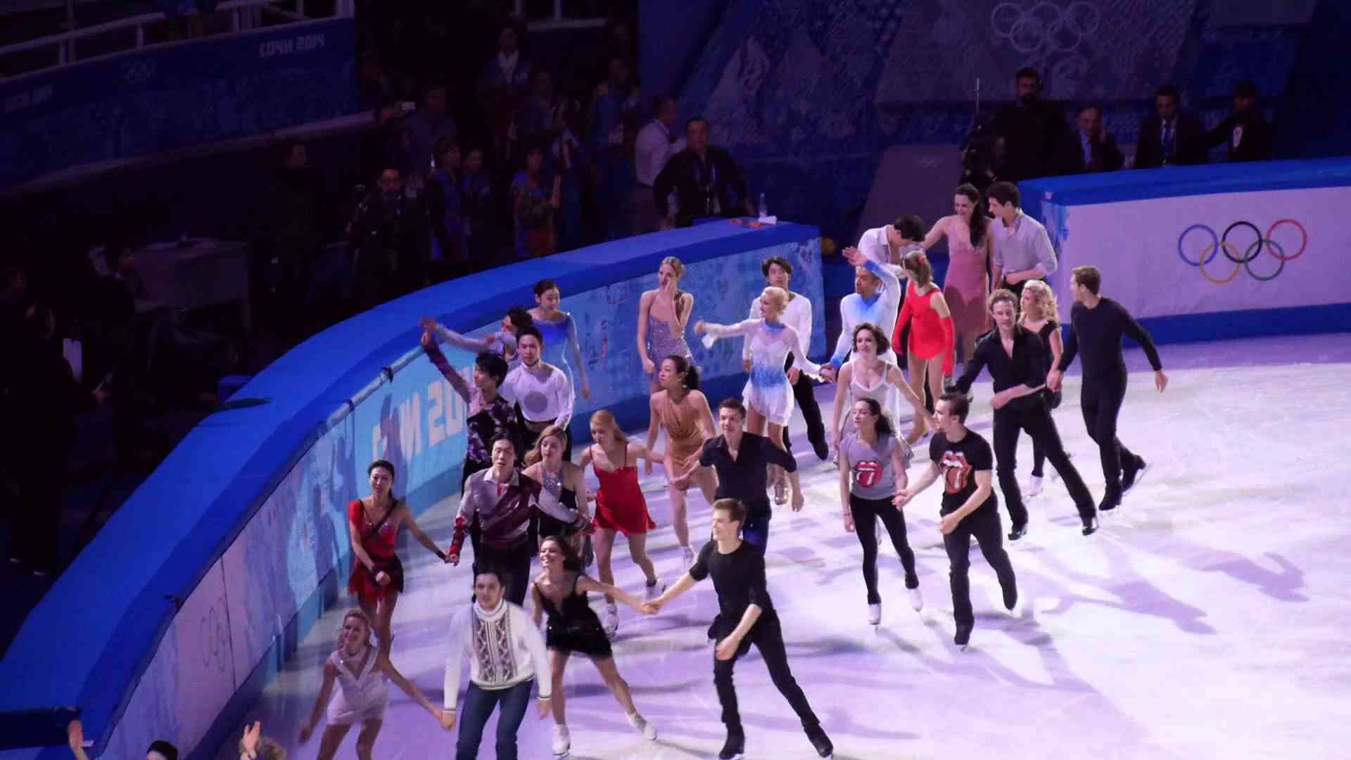 [Fan cam] Yuna Kim in Gala Exbition Finale in Sochi 2014 Winter Olympics - YouTube