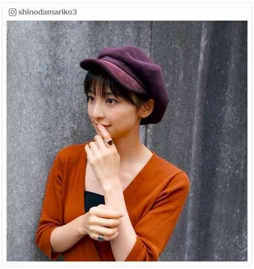 篠田麻里子、黒髪にイメチェンで「可愛い」「真似したい」の声続々 - モデルプレス