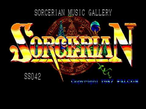 [PC-88] ソーサリアン ミュージックギャラリー - YouTube