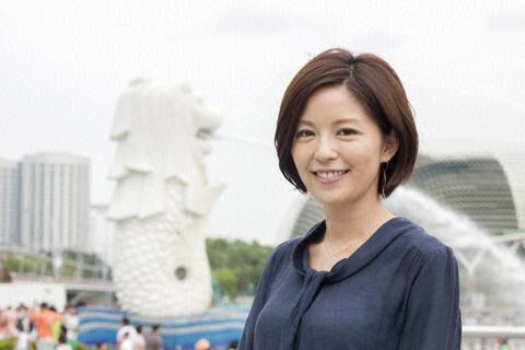 中野美奈子アナ シンガポールでのセレブ生活を投稿し反感も