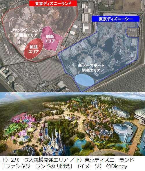 東京ディズニーランド、客数減の地獄突入…USJと中国に客取られ深刻