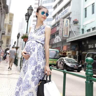 夏のマタニティファッション