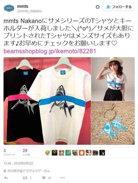 中川翔子デザインのグッズ、イラストに盗用疑惑? 酷似する写真が発覚で炎上