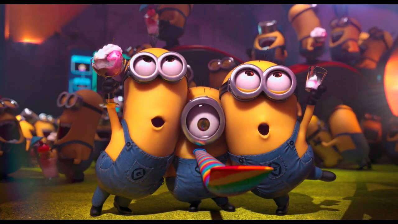 Minions Party - Despicable Me 2 - YouTube