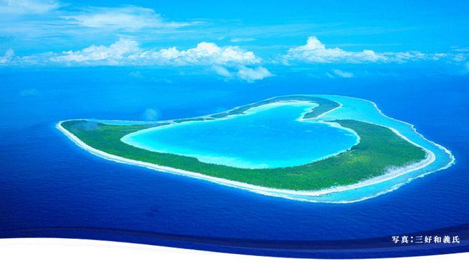 1日1組だけの限定!結婚式でしか上陸が許されないハート型の島「ツパイ島」