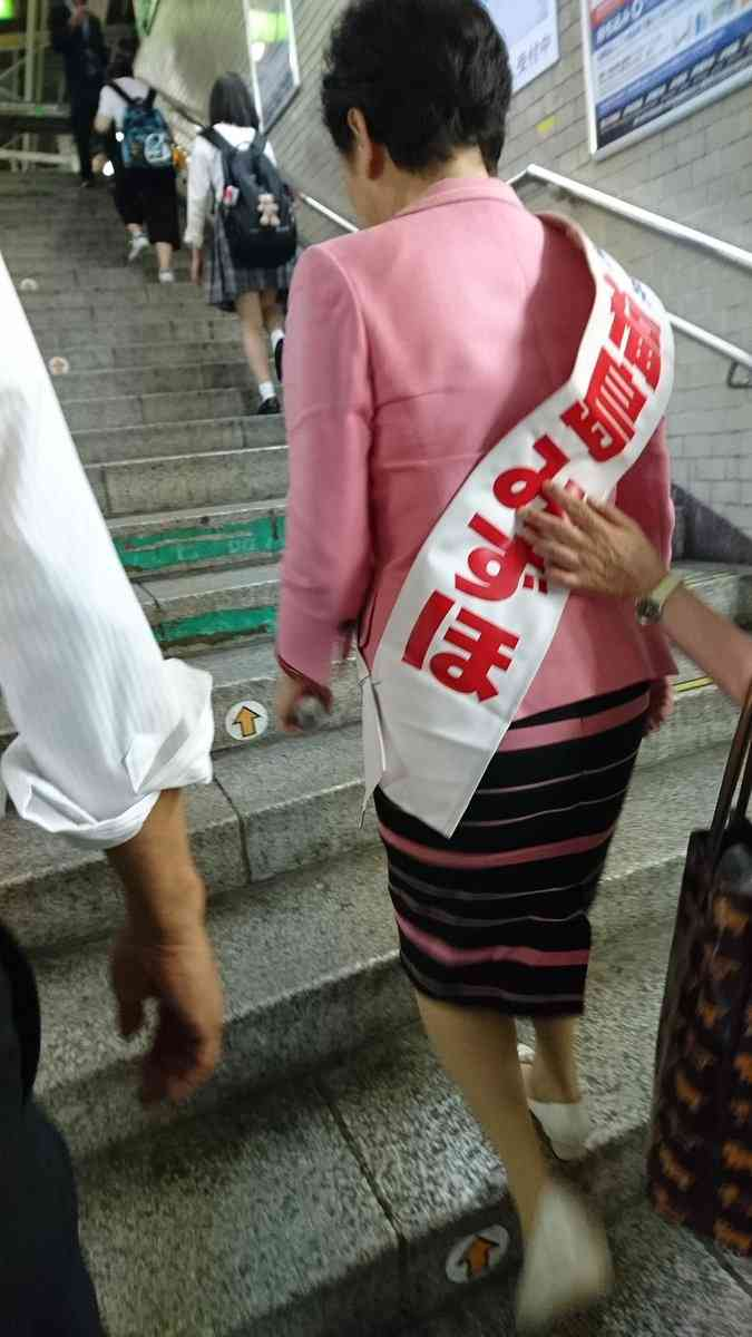 社民党・福島みずほ公職選挙法違反でアウト…指摘されて駅から全力で逃走中wwwwwwwwwwwwww:ハムスター速報