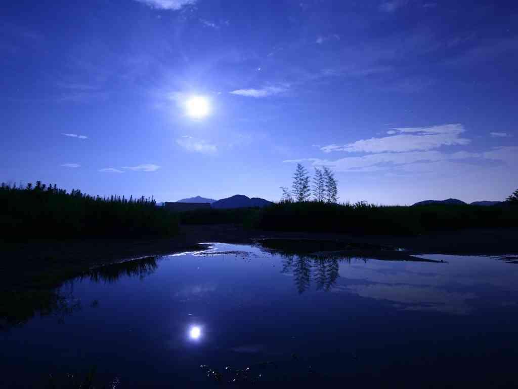綺麗な夜空、夕日、夜景の画像を集めよう♪