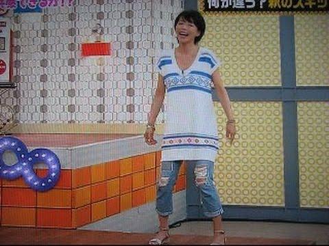 釈由美子のガクガク スキップ - YouTube