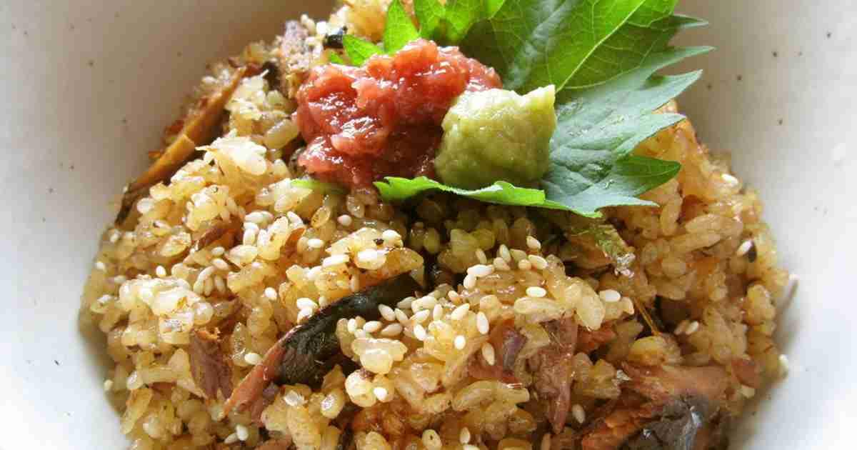 サンマ缶でおもてなしにも炊き込みご飯 by まじゅじゅ [クックパッド] 簡単おいしいみんなのレシピが242万品