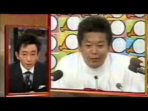 【放送事故】古舘伊知郎 vs 堀江貴文 [本気の大喧嘩] - YouTube