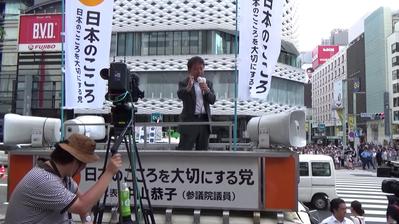 【拡散/動画】演説の時間を守らない日本共産党に、日本のこころ・犬伏秀一大田区議会議員が激アツ演説で大反撃「約束守れ!何が戦争法案だ!」 / 正義の見方