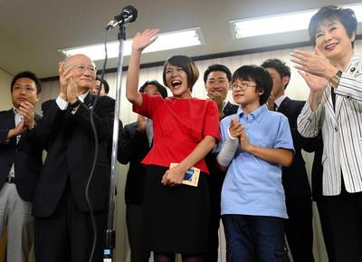 沖縄出身の今井絵理子、当選直後に基地問題を「これから勉強」「現状わからない」