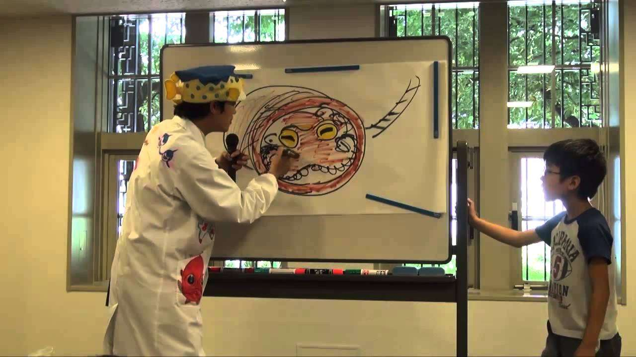 さかなクン・白井さん・木佐さんのESDトークショー4 さかなクンクイズショー! :文部科学省 - YouTube