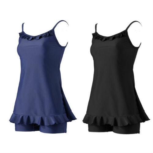 フリル付きスクール水着に新商品 洋服みたいで体のラインをカバー