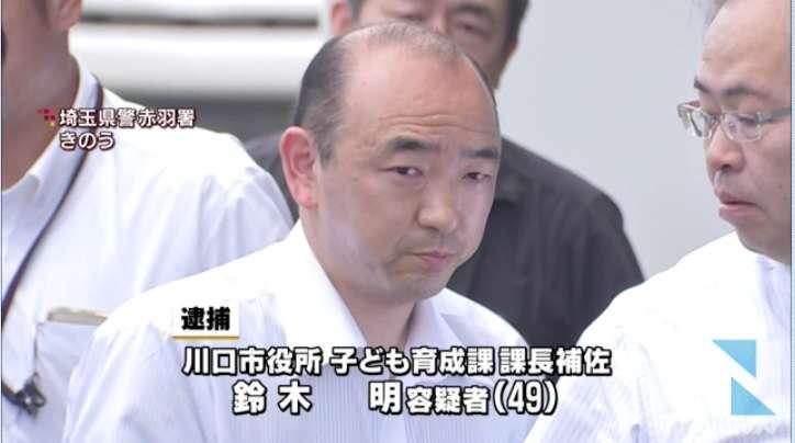 電車内で女子高生に体液付ける 容疑で川口市課長補佐を逮捕 セーラー服姿、同様被害16件