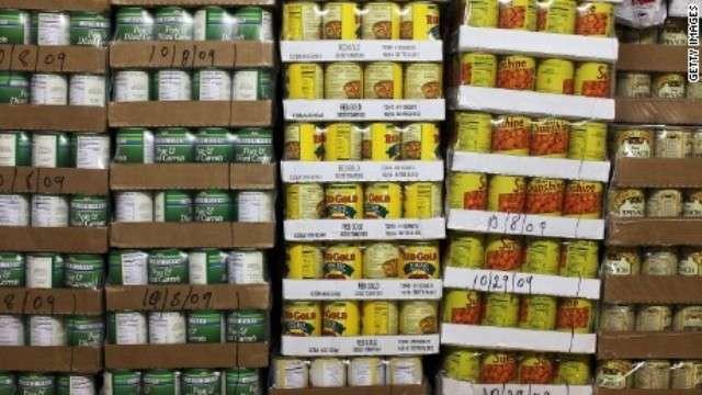 缶詰食品の摂取で化学物質濃度上昇、健康リスクと関連指摘も