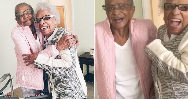 100歳と102歳!おばあちゃん2人の71年にわたる友情