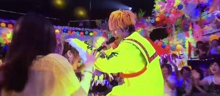 NEWS増田貴久がチャンカパーナで観客の頭ポンポンし全国の増田担が死亡、担降り騒動 #テレ東音楽祭