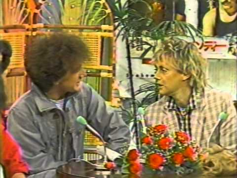 John Deacon & Roger Taylor on TV in Japan - YouTube