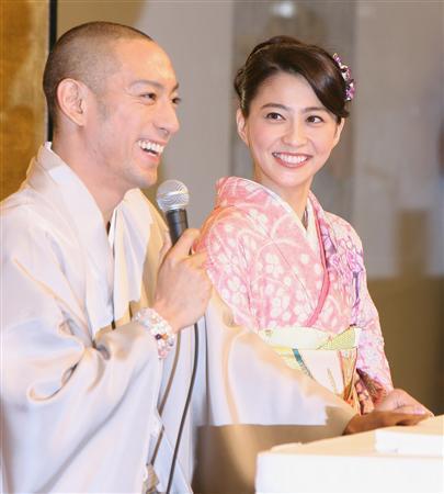 小林麻央「結婚してよかった」と感謝メッセージ 海老蔵「なんだそりゃ」と目を赤く