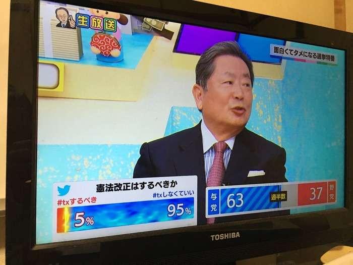 テレ東・池上彰の選挙特番で捏造が発覚wwwwwwwwwww:ハムスター速報