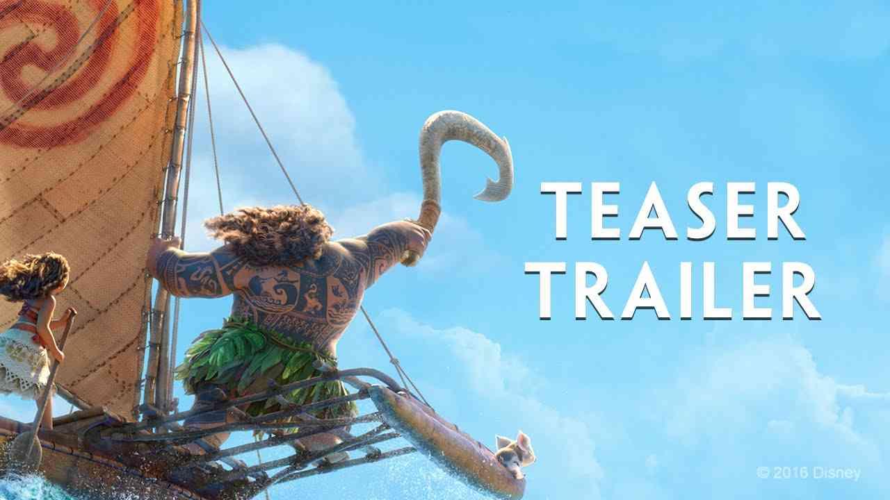 Moana Official US Teaser Trailer - YouTube
