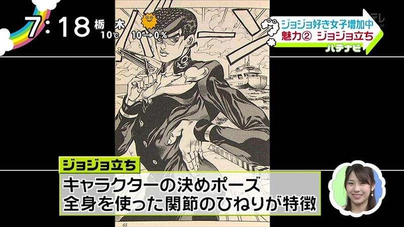 最近の叶恭子さん、ジョジョみたいだとツイッターで話題に