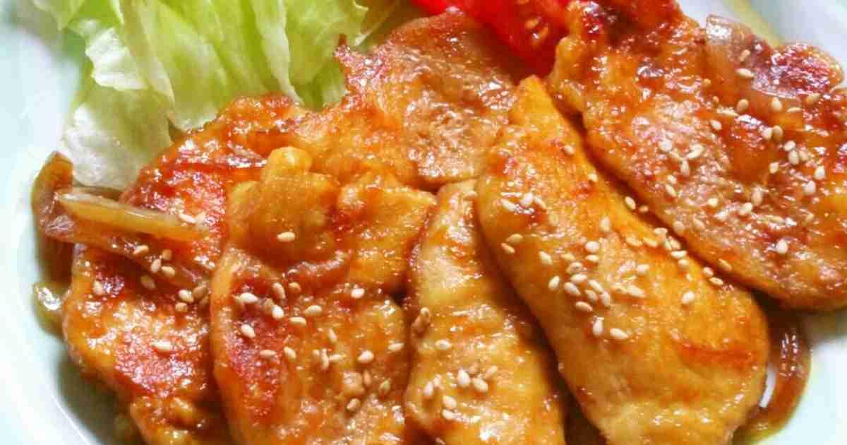 簡単節約☆鶏胸肉の生姜焼き。 by ゆぅゅぅ [クックパッド] 簡単おいしいみんなのレシピが243万品